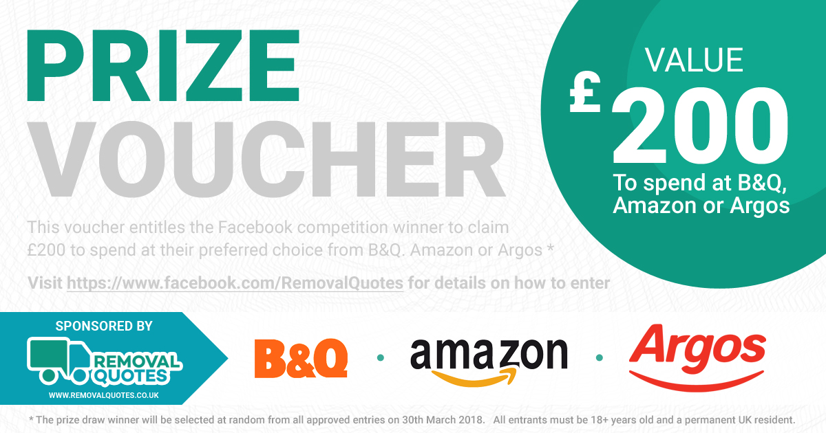 Facebook £200 Prize Draw